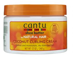 Click here to buy Cantu Shea Butter Coconut Curling Cream for gorgeous curls
