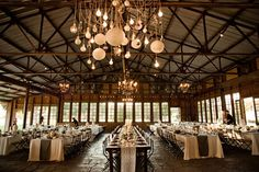 Crossroads Estate, Los Olivos, CA #rusticwedding #barn #losolivios #crossroads #crossroadsestate #weddingvenues #longtables