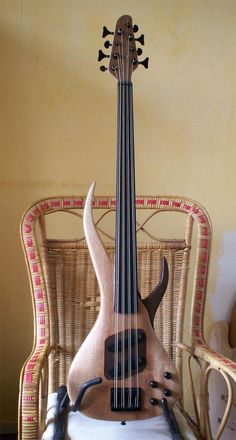 Edwin Paanakker fretless 8-string bass