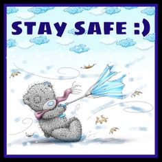 Tatty teddy - Stay safe in this storm