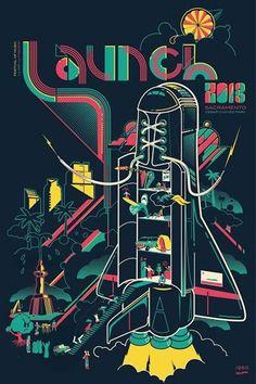 20张国外音乐节海报设计 - Banner/广告 - 爱普工业设计论坛 - Powered by Discuz!