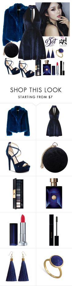 """""""Untitled #564"""" by aida0488 ❤ liked on Polyvore featuring Dries Van Noten, Oh My Love, Jessica Simpson, Carvela, John Lewis, Versace, Gucci and Marco Bicego"""