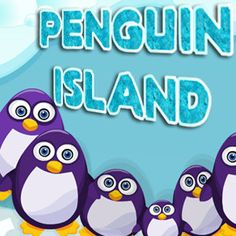 A #fun #logic #puzzle #game. The idea is to hop over nearby #penguins to empty #islands to remove them.