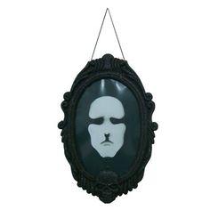 Espelho Quadro Halloween Acende E Dá Risada-R$66.50
