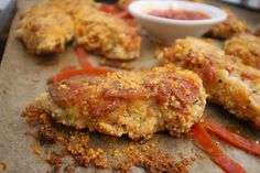 Pepperoni Pizza Chicken Fingers