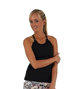 Boutique Stores, Yoga Wear, Basic Tank Top, Camisole Top, Tee Shirts, Amazon, Tank Tops, How To Wear, Stuff To Buy