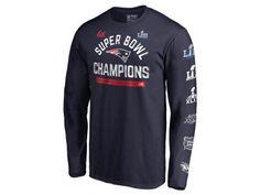 24cd2566f New England Patriots Majestic NFL Men s Super Bowl LIII Champion Always  Champion 6X Long Sleeve T-Shirt