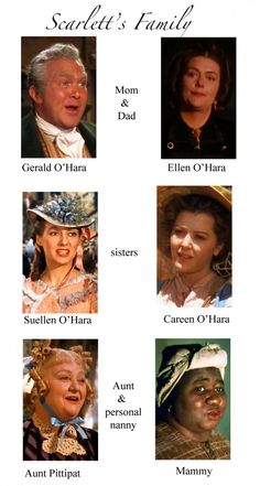 "Scarlett's Family - The Characters of ""Gone With The Wind"""