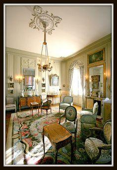 Chambre de Moïse de Camondo, hôtel de Camondo [1911-13]- Paris VIII