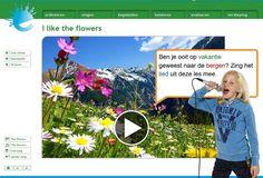 Lesbrief: I like the flowers   Muziek-wijs   Eigenwijs-digitaal