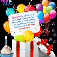 😊😉🎇🎉🎈🎊Feliz Cumpleaños y Bendiciones para ti😊😉🎇🎉🎈🎊 | Tarjetitas Cake Pops, Happy Birthday, Christmas Ornaments, Holiday Decor, Magic, Videos, Anniversary Message, Messages, Paper
