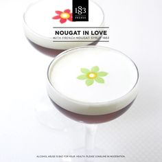 Nougat In Love, with French Nougat Syrup 1883. #Coffee #Barista #ColdDrink