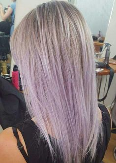 Lavender balayage by Kylie Kylie King, Lavender, Long Hair Styles, Nails, Colors, Makeup, Beauty, Finger Nails, Make Up