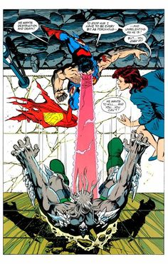 DC Comics Showcase, From Superman #75, by Dan Jurgens and Brett...