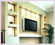 Ideas for living room wall with tv wall unit ideas gypsum decorating drywall designs design living . ideas for living room wall with tv Tv Wall Design, Wall Unit Designs, Living Room Entertainment Center, Living Room Wall, Kitchen Wall Units, Living Room Entertainment, Wall Design, Wall Tv Unit Design, Modern Living Room Wall