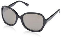 SOCIETY NEW YORK Women's 15H0079 Sunglasses Black