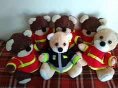 Hungarian life saver plush bears. 🐻  Paramedics and a firefighter If you liked it, visit the Hungarian Bear Forces facebook site.