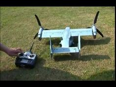 Walkera rc twipter Osprey plane. - YouTube