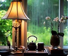 Если за окном пошел #дождь, не расстраивайтесь, потом обязательно будет #радуга…