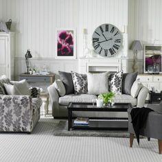 Gray sofa Living Room Decor Fresh 69 Fabulous Gray Living Room Designs to Inspire You Decoholic Living Room Sectional, Living Room Grey, Living Room Furniture, Living Room Decor, Grey Furniture, Living Room Color Schemes, Living Room Designs, Grey Couch Decor, Gray Couches