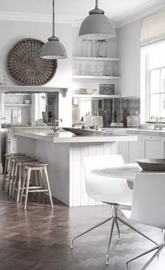 White Theme Room Decoration Modern Kitchen Design, Interior Design Kitchen,  Kitchen Designs, Interior