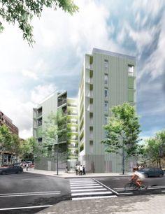 coll leclerc . viviendas en Poble Nou . Barcelona (1)