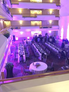 Hyatt Regency Bethesda I Bat Mitzvah I Concours Terrace I Purple I Family Style
