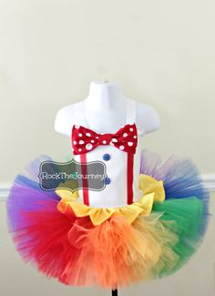 Hey, I found this really awesome Etsy listing at https://www.etsy.com/listing/507168827/girl-big-top-circus-clown-costume