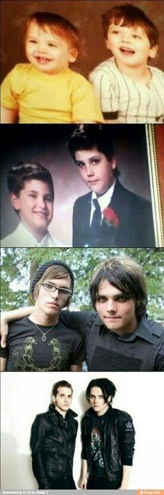 Mikey y Gerard
