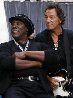 Bruce Springsteen and Clarence Clemons!!