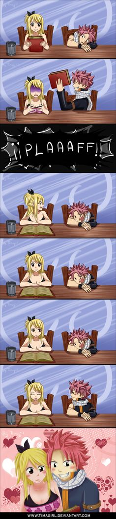 Mini doujinshi NALU *Whimsical* by Timagirl.deviantart.com on @deviantART