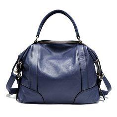 Genuine Leather Vintage Bucket Bag Handbag Shoulder Bag Crossbody Bag