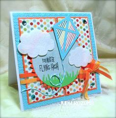FS311 Flying High by StampingQueenJAR - Cards and Paper Crafts at Splitcoaststampers