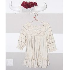 Crochet festival tunic/ dress Preloved in excellent condition tunic top or dress. Perfect festival/boho piece.  Universal size/one size fits all. amon avis Dresses
