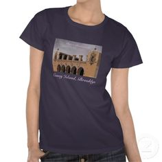 CHILDS RESTAURANT FACADE LADIES' T-SHIRT, by The Flying Pig Gallery on Zazzle (lizadeyphoto) - Detail of facade of old Childs Restaurant, located on The Boardwalk (Coney Island, NY). Once one of the great dining establishments on The Boardwalk during Coney Island's heydey, for many years its abandoned building fell into disrepair and faced demolition. Now landmarked, it is currently slated for restoration and redevelopment. ** A DREAMLAND GIFTS APPAREL Item. **