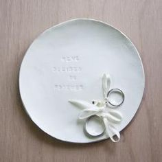 Create Clay Ring Plates