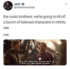 #InfinityWar #RussoBrothers