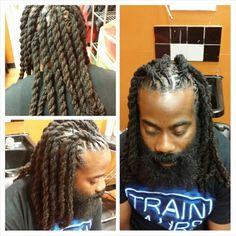 two strand twist locs black women