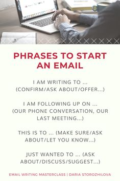 Learn how to write emails in English easily and without stupid mistakes. Join 'Email Writing Masterclass' and improve your writing skills in English English Vocabulary Words, English Phrases, English Words, English Grammar, English Lessons, Learn English, Email Like A Boss, Work Goals, Job Interview Tips