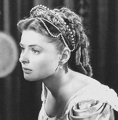 "Ingrid Bergman en ""Atormentada"", 1949"