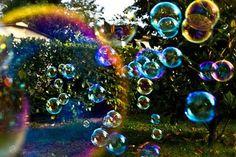 Aria leggera come bolle