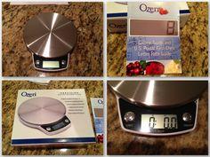 Ozeri Precision Digital Kitchen Scale