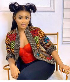 African Wear Dresses, Latest African Fashion Dresses, African Print Fashion, African Attire, Ankara Fashion, African Blouses, Ankara Jackets, African American Hairstyles, Look Fashion