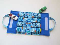 Toy Car TOTE - Holds 8 - Rush Hour. $24.00, via Etsy.