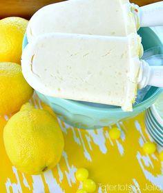 lemon drop cheesecake popsicle recipe