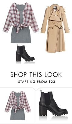 """Untitled #490"" by skittles1324 ❤ liked on Polyvore featuring Chicnova Fashion, Barneys New York and Burberry"