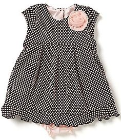 Pippa & Julie Baby Girls 12-24 Months Dotted Dress