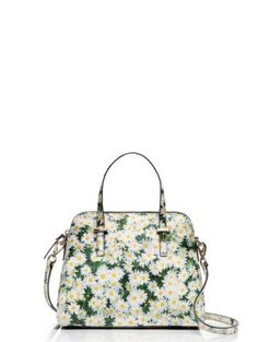 cedar street daisy maise - This is just even more adorable in hand. Swung by Kate Spade & was drawn in by this beauty. I so want this now! Picking flowers for my bag!