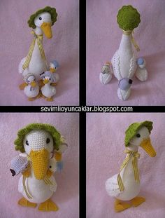 ducks #amigurumi #crochet