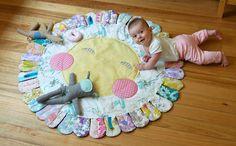 Fleur playmat by Leslie Keating for Onegirl designworks